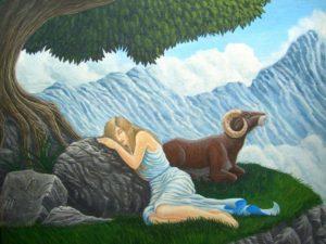 Овен мужчина и Дева в любви
